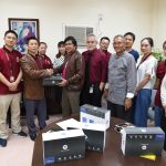 Perpetual receives projectors from Chinese PhD students