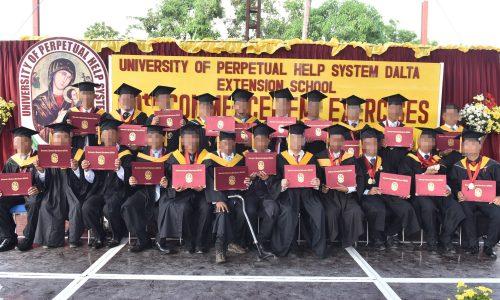 Perpetual Bilibid Graduation Rites