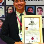 100 Most Dedicated Professors Awardee
