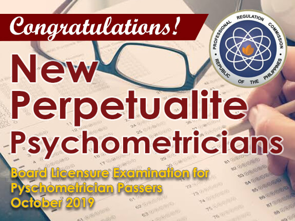 New Perpetualite Psychometricians