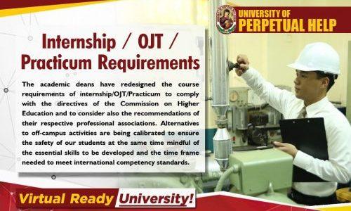 Practicum Requirements